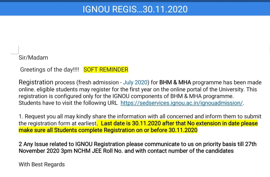 https://sedservices.ignou.ac.in/ignouadmission/